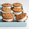 Oatmeal Ice Cream Pies