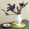 Raven Urn Centerpiece