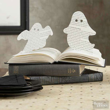Ghostly Halloween Crafts