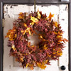 Leaf-&-Berry Fall Wreath
