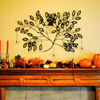 Tree-Theme Mantel