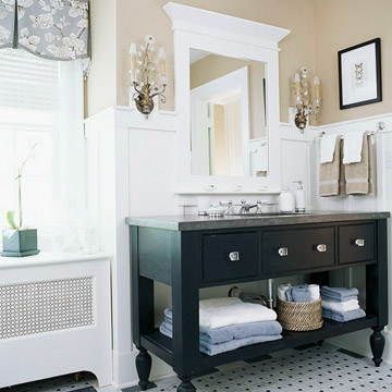 Open Vanities for Any Bath