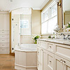 Beaded-Board Tub Surround