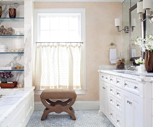 Bathroom Window Treatments Better Homes And Gardens