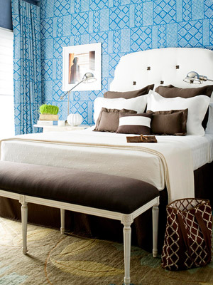 Blue Bedroom Decorating Ideas - Better Homes and Gardens - BHG.com