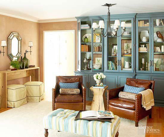 Eco-Friendly Makeover for a Living Room