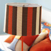 Fabric-Covered Fall Lamp
