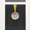Dress Up Your Door with a Modern Wreath