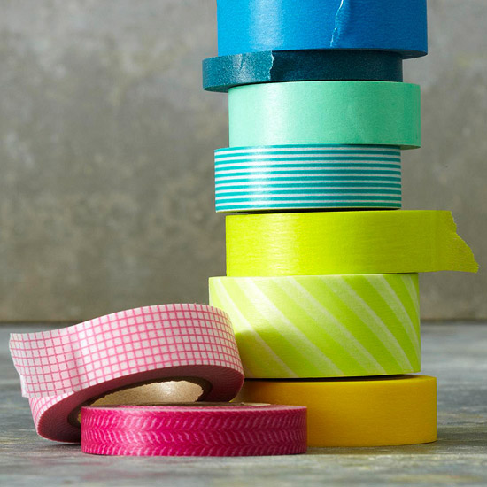 Decorate with Tape