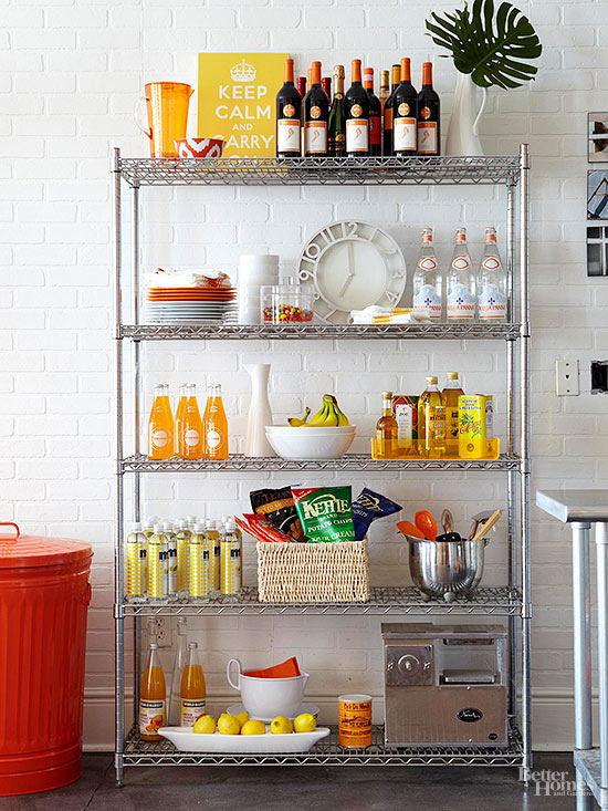 Superb Freestanding Pantry Ideas