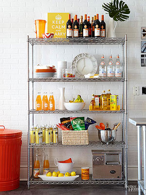 Freestanding Pantry Ideas