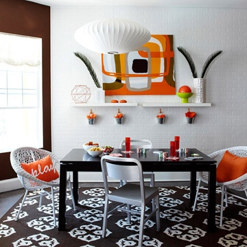 A Modern Condo with Colorful Flair