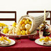 Cornucopia Thanksgiving Centerpiece