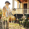 Skeletons Playing Croquet