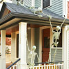 Skeletons on the Front Porch