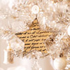 Script-Star Christmas Ornament