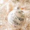 Paper-Stuffed Christmas Ornament