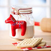 Felt Dala Horse Ornament