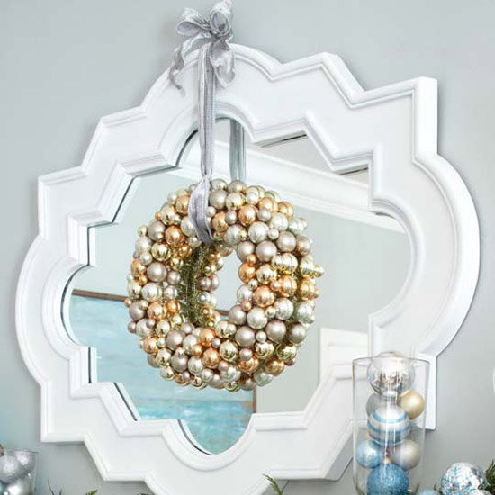 Sparkling Silver Holiday Decor