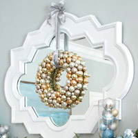 Sparkling Silver Christmas Decorations