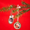 Christmas Card Photo Trim Ornaments