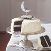 Black Velvet Cake and Cake Toppers