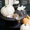 Personalized Faux Pumpkins