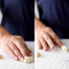Form the cavatelli with your fingers