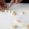 Cut dough into sections