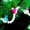 Snowman Christmas Tree Garland