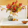 Colorful Fall Leaf Vase and Garland