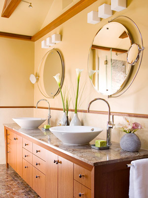 Tangerine Paint Color bathroom paint ideas - better homes and gardens - bhg