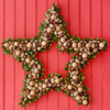 Transform Nuts into a Star Wreath