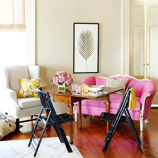 Keep a Small Room Flexible