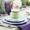 Draped Purple Napkin