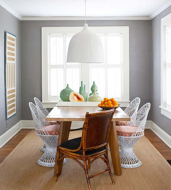Decorating with Gray: Walls, Accessories, and Accents