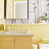 Yellow Master Bath