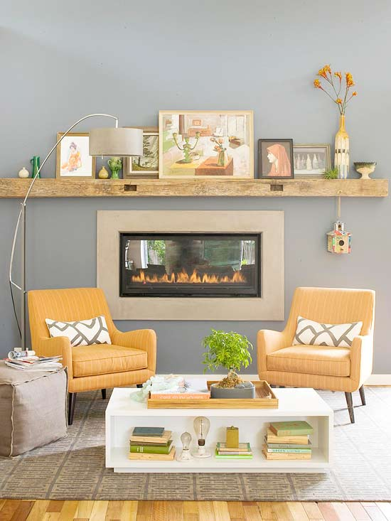 DIY Mantel Ideas