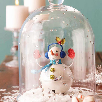 Snowman Snack Container Craft photo 3433046-5