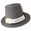 Kids' Table: Pilgrim Hat Place Card