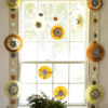 Colorful Medallion Window Garland