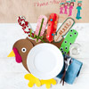 Kids' Table: Turkey Place Mat Game