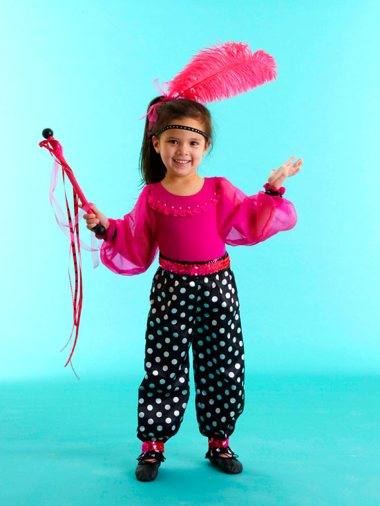 Make a Kid's Circus Acrobat Costume for Halloween