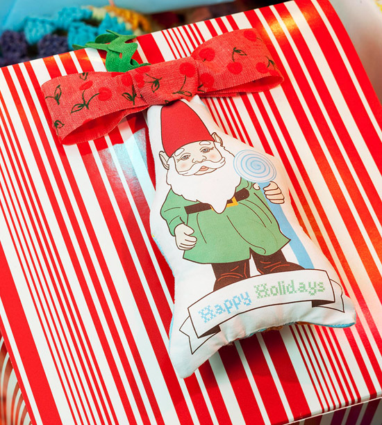 Gnome Gift Tag