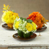 Vegetable Vases with Flowers Tabletop Decoration