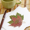Leaf Note Cards