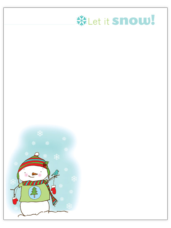 Free microsoft christmas letter templates datariouruguay 1000 images about christmas stationary on pinterest spiritdancerdesigns Images
