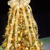 Glittery Gold Christmas Tree