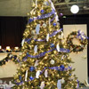 Blue-and-Silver Christmas Tree