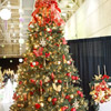 Red, Silver, and Gold Christmas Tree